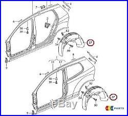 New Genuine Vw Golf 04-09 Rear Wheel Arch Trim Fender Liner Splash Guard Right