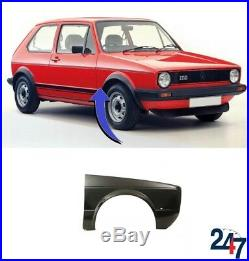 New Volkswagen Golf Mk1 1974-1993 Front Wing Right Side Fender Cover O/s