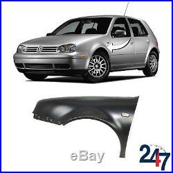 New Volkswagen Vw Golf IV 1997-2003 Primed Front Wing Fender Left N/s 1j0821021