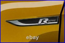 Nuovo Originale Volkswagen Golf MK7 Restyling R-Line FENDER Emblema Set Paio L R