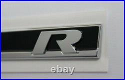 Original lettering VW Golf 7 R logo, set fender, emblem, logo 5G0853688