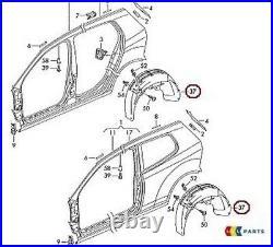 Originale VW Golf Gti R32 04-09 Passaruota Posteriore FENDER Per Paraspruzzi SX