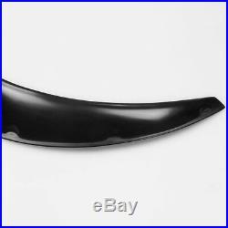 Pair 80cm Car SUV Polyurethane Body Wheel Eyebrow Fender Flares Flexible Durable