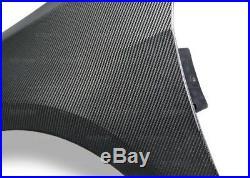 SEIBON 15-17 Golf/GTI Carbon Fiber (2) Front Fenders OEM MK7