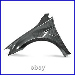SEIBON Carbon Fiber (2) Fenders +10mm for 15-17 Golf/GTI MK7
