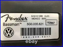Trunk Fender Subwoofer Speaker 5g0035621 Vw Golf Gti 2015 2016 2017 Mk7