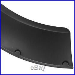 Universal 4pcs 3.1/80mm Flexible Car Fender Flares Extra Wide Body Wheel