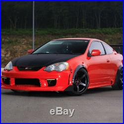 Universal 4pcs Fender Wheel Arches Flare extension flares wide Polyurethane