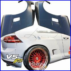 VSaero FRP TKYO Bunny Wide Body 70mm Flares (rear) 2pc for Volkswagen Golf