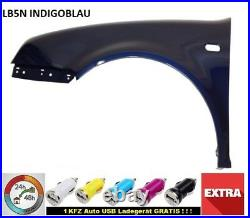 VW Golf 4 IV Mudguard LB5N Indigo Blue Left Front New Year 97-06 EK0013