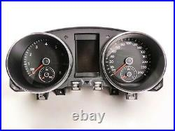 VW Golf 6 VI Instrument Cluster 5K0920870B Combinatorial Unit Tacho Petrol Mfa