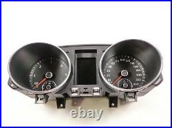 VW Golf 6 VI Instrument Cluster 5K0920870C Combinatorial Unit Tacho Diesel Mfa