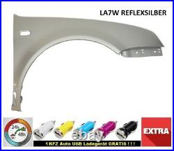 VW Golf IV 4 Mudguard LA7W Reflex Silver Front New 97-06 Right
