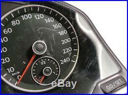 VW Golf Plus II 521 Jetta 3 Instrument Cluster 5M0920870C Tacho Diesel Mfa