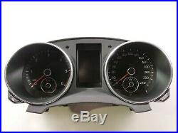 VW Golf VI 6 Tdi Instrument Cluster Combinatorial Unit Mfa Speedo 240km/H