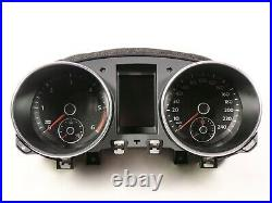 VW Golf VI 6 Tdi Instrument Cluster Combinatorial Unit Mfa Tacho 240km/H