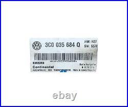 VW RNS 510 GPS Navigation Fender Radio Receiver CD DVD Bluetooth 3C0035684Q OEM