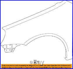 VW VOLKSWAGEN OEM 10-14 Golf-Front Fender Quarter Panel Left 5K6821021B