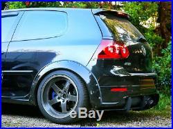 Volkswagen Golf Mk5 Fender flares CONCAVE wide body wheel arches 3.5 4pcs set