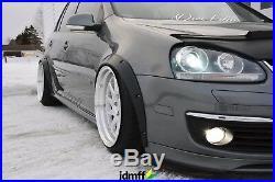Volkswagen Golf Mk5 Fender flares JDM wide body kit wheel arch 2.0 50mm 4pcs
