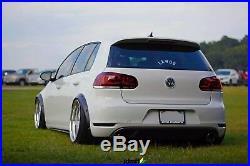 Volkswagen Golf Mk6 Fender Flares JDM wide body kit wheel arch 2.0 50mm 4pcs