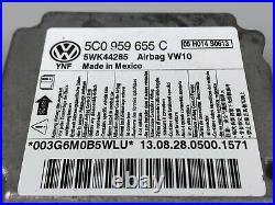 Volkswagen Jetta Golf Mk6 Srs Crash Kontrolle Computer Modul 5C0959655C