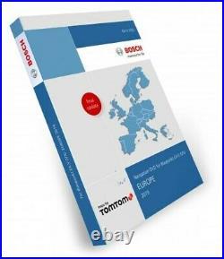 Volkswagen Navigation DVD Europa 2019 / VW RNS MFD DVD TravelPilot EX-V (VX) V17