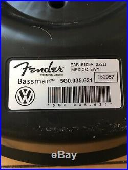 Volkswagen Tiguan Golf Gti Sub Subwoofer Bassman Fender Oem