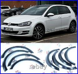 Volkswagen VW GOLF MK7 Fender Flares Wheel Arches extensions 30mm SET OF 8PCS