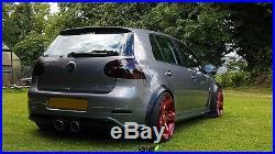 Volkswagen VW Golf Mk5 Fender Flares JDM wide body kit wheel arch 50mm 4pcs set