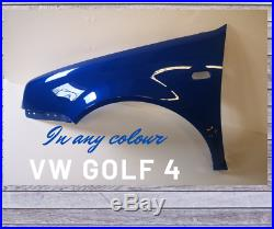 Vw Golf 4 Front Fender Wing Painted In Your Color Right Left