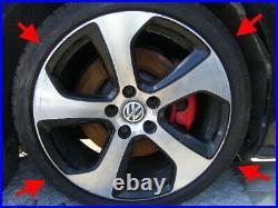 Vw Golf Gti 2016 Austin 18 Alloy Wheels Mitchelin Pilot Sport Tyres Original