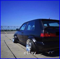 Vw Volkswagen golf II jetta II 2-door voomeran style arches FENDER FLARES 4PCS